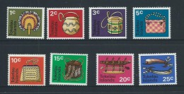 Tokelau 1971 Handicraft Definitives Set 8 MNH - Tokelau