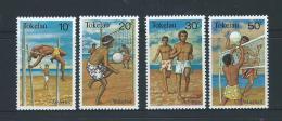 Tokelau 1981 Beach Sport Set 4 MNH - Tokelau