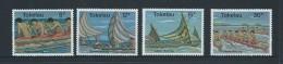 Tokelau 1978 Canoe Sport Set 4 MNH - Tokelau