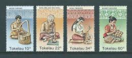 Tokelau 1982 Craft Set 4 MNH - Tokelau
