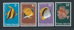 Tokelau 1975 Fish Set 4 MNH - Tokelau