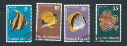Tokelau 1975 Fish Set 4 FU - Tokelau
