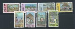 Tokelau 1976 Local Industry Definitive Set 8 MNH - Tokelau