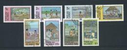 Tokelau 1976 Local Industry Definitive Set 8 FU - Tokelau