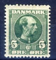 #K3054. Denmark 1905. Michel 47. MNH(**)