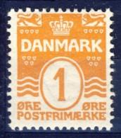 #K3060. Denmark 1905. Michel 42. MH(*)