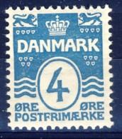 #K3062. Denmark 1905. Michel 45A. MNH(**)