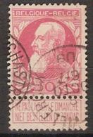 Nr. 74 Met Afstempeling CHASTRE - VILLEROUX En In Goede Staat ! Inzet 2 € ! - 1905 Grosse Barbe