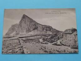 North-East View From SAN BARBARA FORT ( N° 5 ) Gibraltar - Anno 19?? ( Zie Foto Voor Details ) !! - Gibraltar
