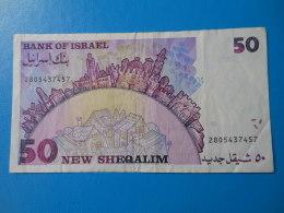 Israel 50 New Sheqalim 1992 P.55c TTB - Israel