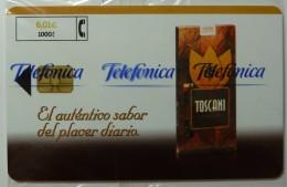 SPAIN - Chip - P-474 - 6.01 Euros - 06.01 - 3,600ex - Toscano - Mint Blister - España