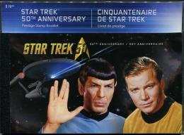 Canada (2016) - Prestige Booklet -   /  Movie Stars - Space - Cinema - Film - Star Trek - Cinema
