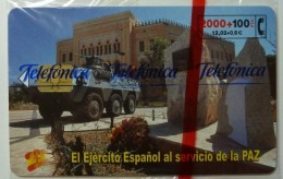 SPAIN - Chip - 2000 Units - El Ejercito Espanol - 01.01 - 2100ex - CP-204 - Mint Blister - España
