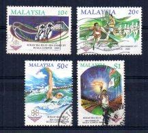 Malaysia - 1989 - 15th South East Asian Games - Used - Malaysia (1964-...)