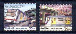 Malaysia - 1997 - Opening Of Light Rail Transit System - Used - Malaysia (1964-...)