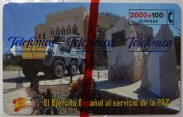 SPAIN - Chip - 2000 Units - El Ejercito Espanol - 03.01 - 3400ex - CP-206 - Mint Blister - España