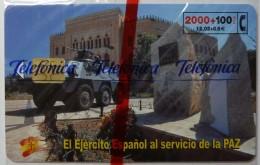 SPAIN - Chip - 2000 Units - El Ejercito Espanol - 04.01 - 2268ex - CP-207 - Mint Blister - España