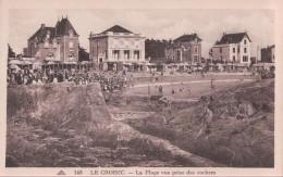 LE CROISIC La Plage Vue Prise Des Rochers - Le Croisic