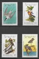 Barbuda (1985) Yv. 741/44   /  Aves - Birds - Oiseaux - Vogel - Vogels
