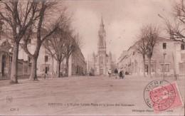 NANTES - église Sainte Anne Et La Place Des Garennes - Nantes