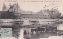 NANTES - Ensemble Du Château Au Bord De La Loire - Nantes