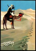 6082 - Alte Postkarte - Karl May - Werbekarte Zum Band - Menschenjäger - TOP - Ohne Zuordnung