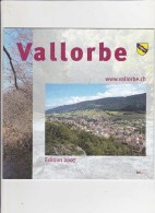 3 Plaquettes De Vallorbe - Histoire