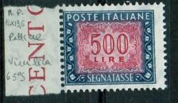 PIA - ITA - Specializzazione : 1976 :  Segnatasse  £ 500 - (SAS 120III  - CAR 49 ) - 6. 1946-.. Repubblica