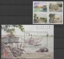 Macao - Macau (2016)  - Set + Block -  /   Art - Paintings - Peintres - Fishing - Peche - Pesca - Ships