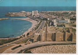 CP - PHOTO - MONASTIR - LE RIBAT ET LE BOULEVARD FRONT DE MER - CARTHAGE - - Túnez