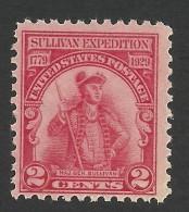 United States, 2 C. 1929, Sc # 657, Mi # 318, MH - Unused Stamps