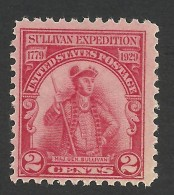United States, 2 C. 1929, Sc # 657, Mi # 318, MH - United States