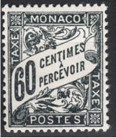 MONACO 1924 / 1932  N° 21 NEUF**  H33 - Segnatasse