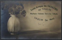Thulin Société Des Faïenceries - Hensies