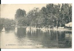 Bordeaux (Gironde) Petits Voiliers Sur Le Lac Du Parc Bordelais - Bordeaux