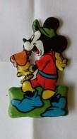 Figurina MIO LOCATELLI Plasteco Serie PAPERONE RE ARTU'  N. 4 TOPOLINO E SACRO GRAAL -  Topolino Paperino Disney - Disney