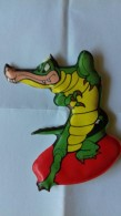 Figurina MIO LOCATELLI Plasteco Serie FANTASIA N. 6 COCCODRILLO - Topolino Paperino Disney - Disney