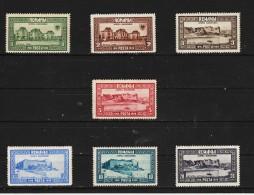 1928 -10 Anniv Du Rattasament  De La BASSARABIE  Mi No 329/335 Et Yv No 344/350 MH - 1918-1948 Ferdinand, Carol II. & Mihai I.