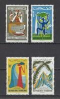 TUNISIE . YT 596/599  Neuf **  Eaux Minérales  1966 - Tunisie (1956-...)