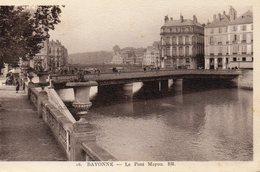 CPA 64 BAYONNE Le Pont Mayou - Bayonne