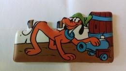 Figurina MIO LOCATELLI Plasteco Serie I BUCANIERI - N. 6 PLUTO - Topolino Paperino Disney - Disney