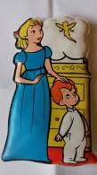 Figurina MIO LOCATELLI Plasteco Serie PETER PAN - N. 4 WENDY E GIANNI - Topolino Paperino Disney - Disney