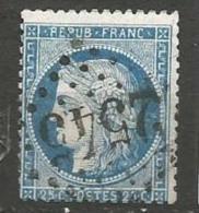 France - Obl. GC2545 MORTEGNE-SUR-HUINE Sur Timbre Napoleon III Et/ou Cérès - N°60 - Marcofilie (losse Zegels)