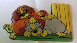 Figurina MIO LOCATELLI Plasteco Serie LILLI E4 IL VAGABONDO - N. 4 I FIGLI DI LILLI - Topolino Paperino Disney - Disney