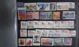 Collection. Without An Album . Postage Stamps/usados /USA - Francobolli