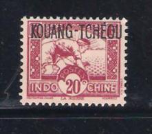 Kouang-Tcheou Y/T Nr 110* (a6p13) - Unused Stamps