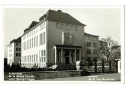 12480 Cpa   LUXEMBOURG - FELDGEN  : Pensionnat De La Sainte Famille , Entrée De La Rue Duchscher !   , Carte Photo  !! - Luxemburgo - Ciudad