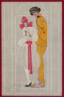 "CROATIA, IVO TIJARDOVIC ""CZECH MILITARY"" ART DECO PICTURE POSTCARD 1921 - Croazia"