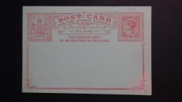 Australia - State Victoria - 1888 - P 10 - 3 Pence - Postcard - Postal Stationery - Unused - Look Scan - Postal Stationery