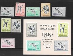 Rwanda 1964 Postfris - Collezioni (senza Album)